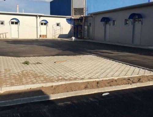 """""""Асфалтобетонови работи на паркинг на """"Сграда за КО и офиси в УПИ XVIII, кв 9 м.""""НПЗ Искър – юг"""""""