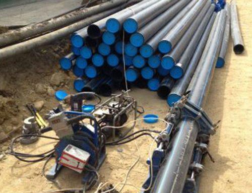 Доставка и монтаж на водопровод Ф160 PEHD, СВО Ф90 и водомерна шахта